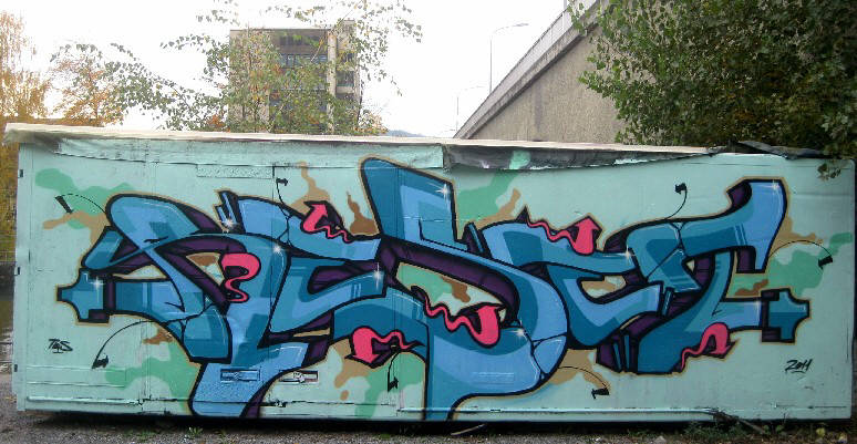 TBS graffiti crew zurich switzerland